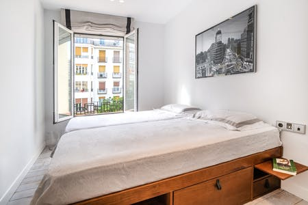 Private room for rent from 01 Jul 2019 (Calle de Narváez, Madrid)
