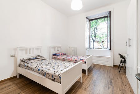 Shared room for rent from 19 Aug 2019 (Viale Lombardia, Milan)