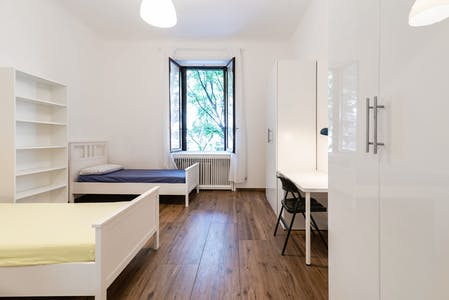 Shared room for rent from 01 Sep 2019 (Viale Lombardia, Milan)