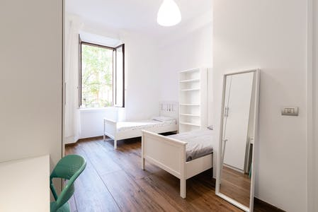 Shared room for rent from 20 Aug 2019 (Viale Lombardia, Milan)