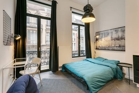 Private room for rent from 01 Jul 2019 (Rue du Méridien, Saint-Josse-ten-Noode)