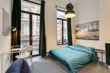 Quarto privado para alugar desde 01 Oct 2019 (Rue du Méridien, Saint-Josse-ten-Noode)