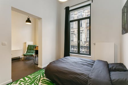 Private room for rent from 01 Aug 2019 (Rue du Méridien, Saint-Josse-ten-Noode)