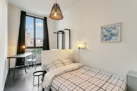 Private room for rent from 01 Aug 2019 (Rue du Méridien, Saint-Josse-ten-Noode)