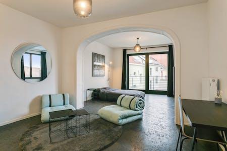 Quarto privado para alugar desde 01 ago 2019 (Rue du Méridien, Saint-Josse-ten-Noode)