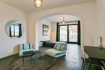 Stanza privata in affitto a partire dal 01 ago 2019 (Rue du Méridien, Saint-Josse-ten-Noode)