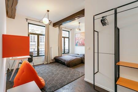 Privatzimmer zur Miete von 01 Sep. 2019 (Rue du Méridien, Saint-Josse-ten-Noode)