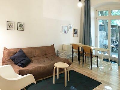 Apartamento de alquiler desde 01 abr. 2019 (Glatzer Straße, Berlin)