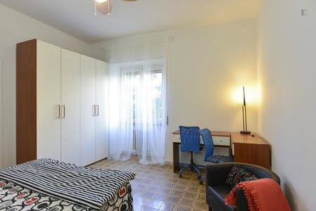Private room for rent from 02 Mar 2019 (Viale dello Scalo San Lorenzo, Rome)