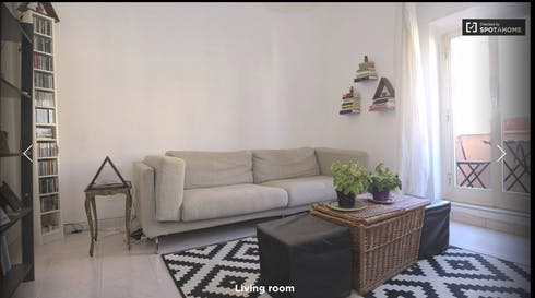 Apartment for rent from 03 Feb 2019 (Via Lodovico Pavoni, Rome)