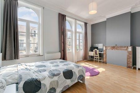 Habitación privada de alquiler desde 01 Mar 2020 (Avenue Milcamps, Schaerbeek)