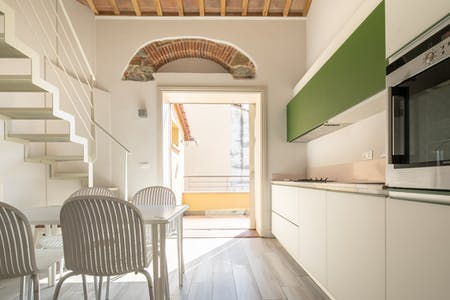 Apartment for rent from 25 Aug 2019 (Via Vittorio Emanuele II, Florence)