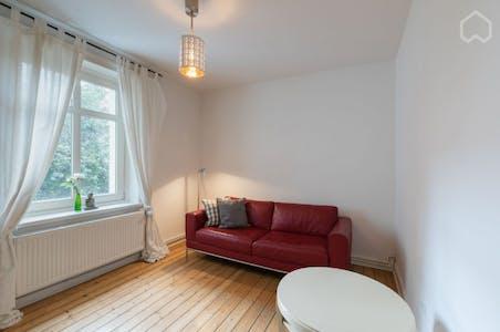 Apartment for rent from 24 May 2019 (Gertigstraße, Hamburg)