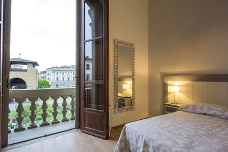 Apartment for rent from 30 Jun 2019 (Piazza Cesare Beccaria, Florence)