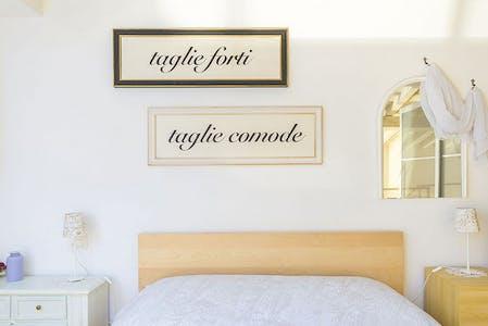 整套公寓租从31 8月 2019 (Via Ghibellina, Florence)