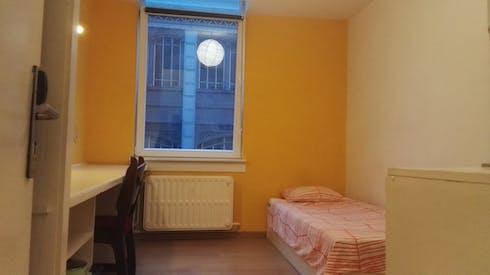 Private room for rent from 19 May 2019 (Rue de la Constitution, Schaerbeek)