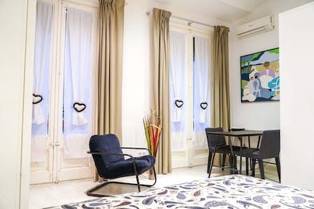 Wohnung zur Miete ab 31 März 2020 (Carrer dels Sombrerers, Barcelona)