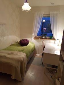 Private room for rent from 04 Jul 2020 (Flugsnapparvägen, Älta)