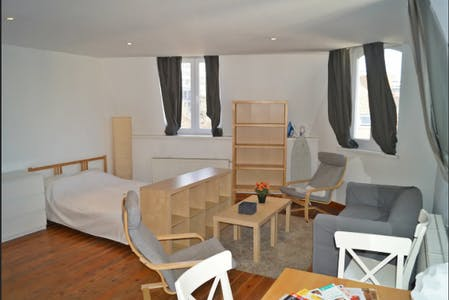 Apartment for rent from 23 Aug 2019 (Rue Stevin, Brussels)