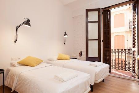 Apartment for rent from 31 Mar 2019 (Carrer de Pizarro, Barcelona)