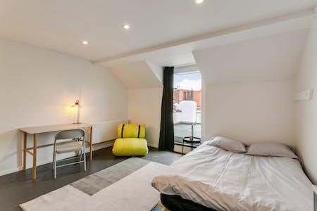Quarto privativos para alugar desde 01 Jan 2021 (Rue du Méridien, Saint-Josse-ten-Noode)