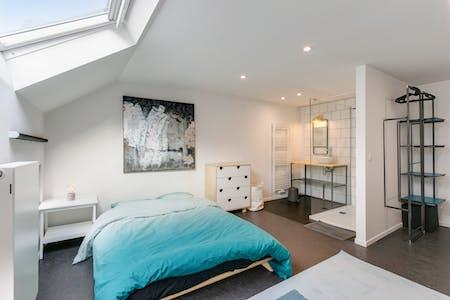 Private room for rent from 01 Dec 2020 (Rue du Méridien, Saint-Josse-ten-Noode)