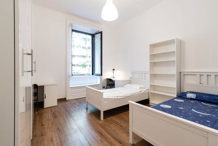 Shared room for rent from 15 Aug 2019 (Viale Lombardia, Milan)