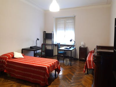 Shared room for rent from 29 Aug 2019 (Via Cristoforo Colombo, Turin)
