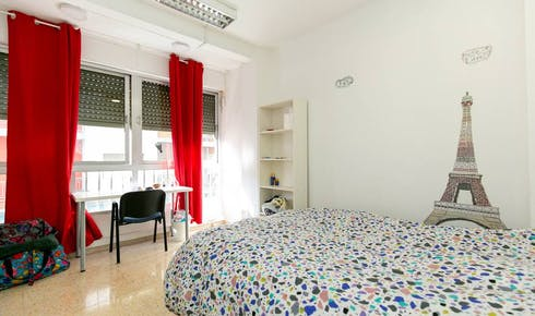Private room for rent from 01 Jul 2020 (Calle Luis Braille, Granada)