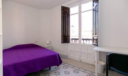 Private room for rent from 01 Jul 2020 (Calle Natalio Rivas, Granada)