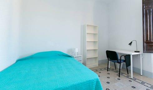 Private room for rent from 01 Jul 2019 (Calle Natalio Rivas, Granada)