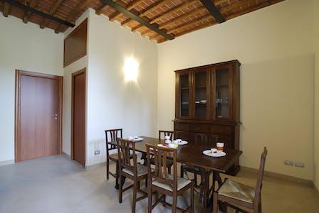 Apartamento para alugar desde 01 mai 2019 (Via Fiorentina, Siena)