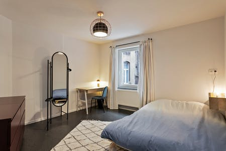 Private room for rent from 01 Jul 2019 (Rue de Pavie, Brussels)