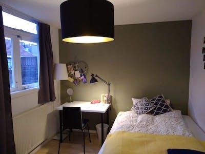 单人间租从22 2月 2019 (Violenstraat, Rotterdam)
