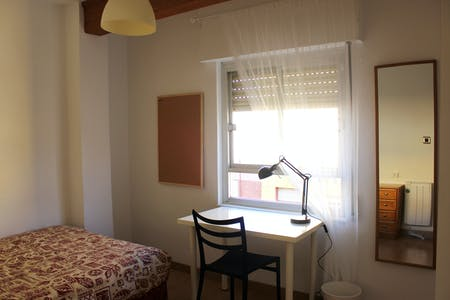 Private room for rent from 10 Feb 2020 (Calle Reina Doña Violante, Murcia)