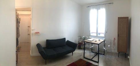 Appartement te huur vanaf 22 apr. 2019 (Rue du Faubourg du Temple, Paris)