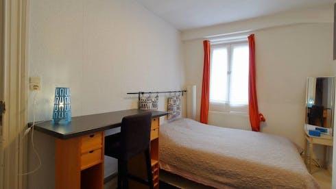 Quarto privado para alugar desde 18 Jun 2019 (Rue Kerckx, Ixelles)