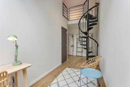 单人间租从01 Jul 2020 (Rue Général Wangermée, Etterbeek)