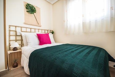 Private room for rent from 21 Aug 2019 (Paseo de Santa María de la Cabeza, Lavapiés)