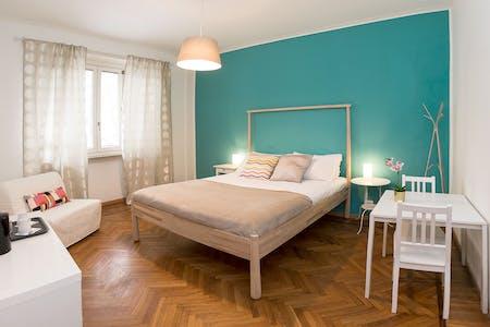 Habitación privada de alquiler desde 28 Aug 2019 (Corso Massimo D'Azeglio, Turin)