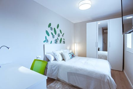 Private room for rent from 31 Jul 2019 (Carrer del Miracle, Barcelona)