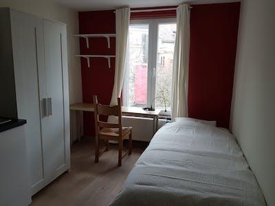 Privatzimmer zur Miete von 02 Aug 2019 (Rue Saint-Alphonse, Saint-Josse-ten-Noode)