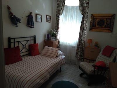 Chambre privée à partir du 22 juin 2019 (Paseo del Hospital Militar, Valladolid)