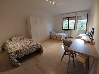 Shared room for rent from 28 Apr 2019 (Via Luigi Pellizzo, Padova)