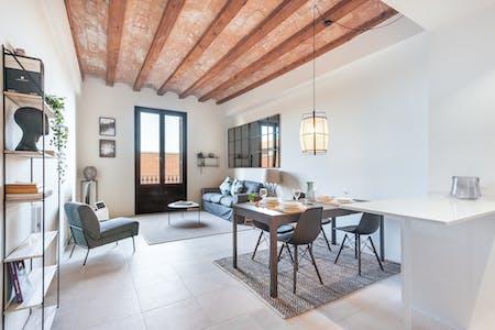 Apartamento para alugar desde 21 abr 2019 (Carrer de la Reina Cristina, Barcelona)