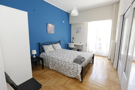 Private room for rent from 30 Jun 2020 (Marni, Athens)