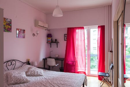 Private room for rent from 01 Jun 2020 (Marni, Athens)