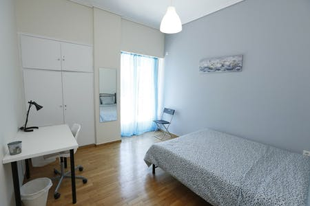 Private room for rent from 29 Feb 2020 (Marni, Athens)