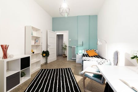Private room for rent from 01 Oct 2021 (Via Tripolitania, Rome)