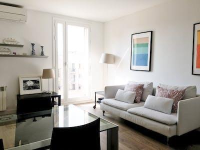 Appartement te huur vanaf 28 jul. 2019 (Rambla Santa Mònica, Barcelona)
